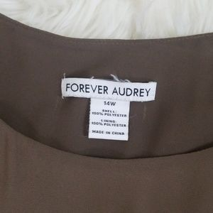 forever audrey Dresses - Forever Audrey Casual Elastic Waist Dress